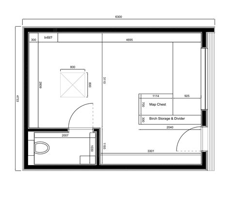 planning a room plans in it studios