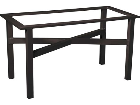 Woodard Elitelarge Dining Table Base Only 4v7200 Patio Table Bases