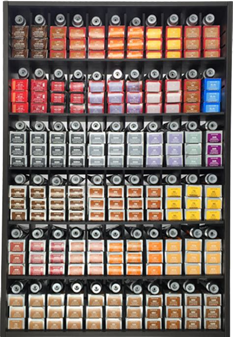 Paul Mitchell Color Rack by Hair Color Chart Redken Wella Brown Hairs