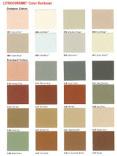 scofield color chart concrete colors for sted concrete and stained concrete