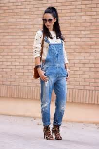selling 2013new korean washing frayed denim overalls