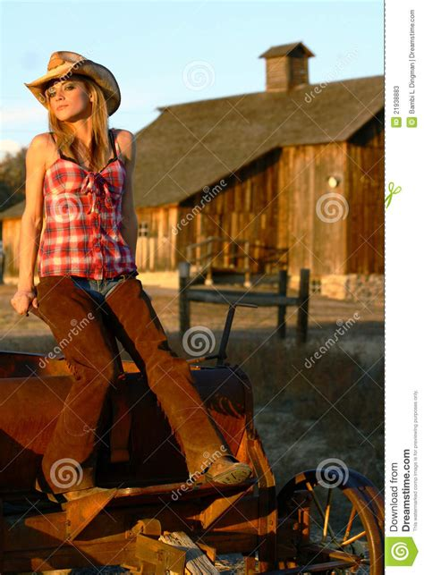 Vintage Farmhouse Plans female ranch hand stock image image of rust girl blonde
