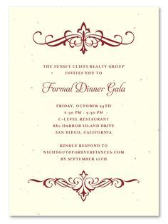 Fundraising Dinner Invitation Letter Sle Fundraising Dinner Invitation Letter Infoinvitation Co