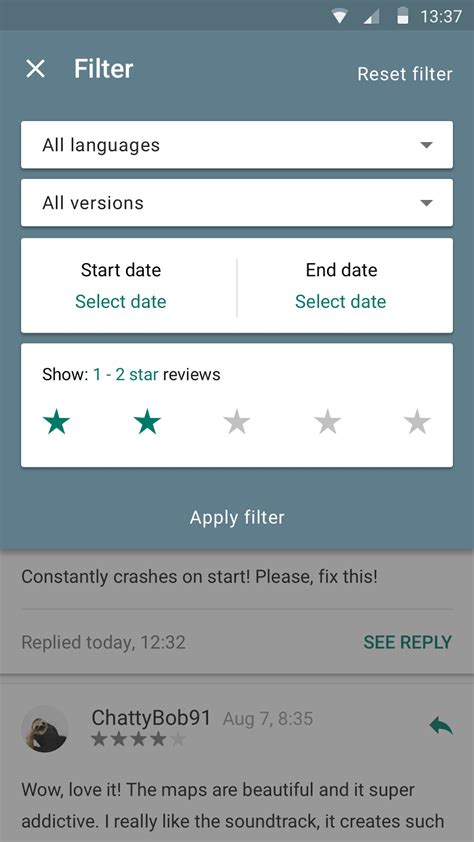 android console app play developer console app gets