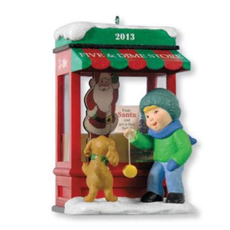 hallmark club series ornament 2013 christmas window 11
