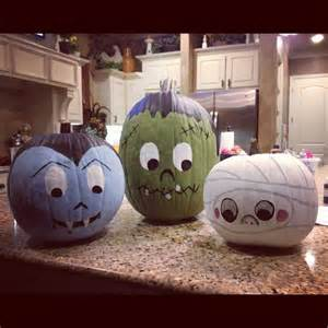 hi 31 delicate halloween pumpkin painting crafts for you