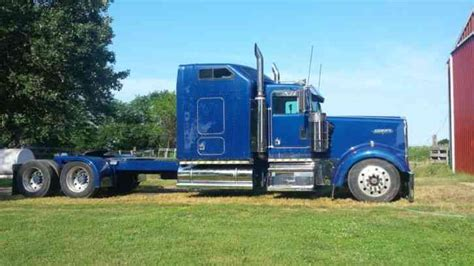 custom truck sales kenworth kenworth w900 1994 sleeper semi trucks