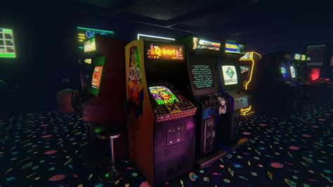 free arcade newretroarcade is a brilliantly detailed 80 s arcade that will take you on a vr nostalgia trip