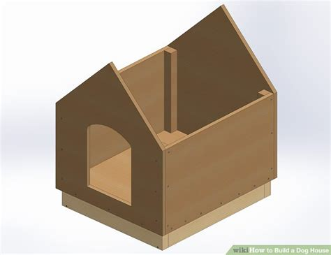 steps to build a house how to build a dog house with pictures wikihow