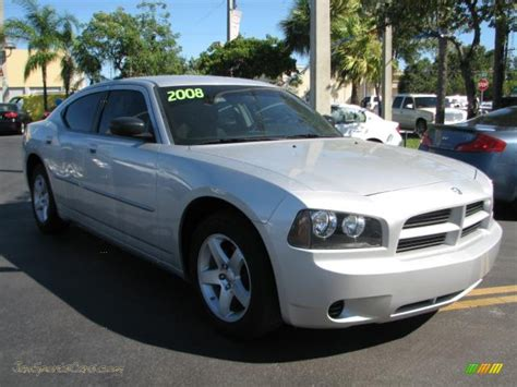 2008 silver dodge charger 2008 dodge charger se in bright silver metallic 190963