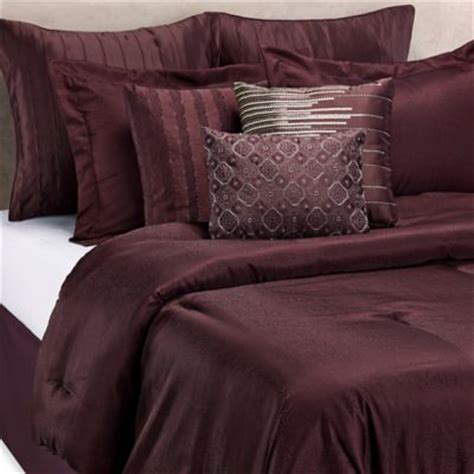 Buy Burgundy Bedding From Bed Bath Beyond Maroon Bed Set