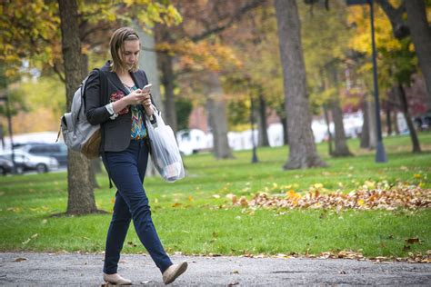 walking on the walking while texting could land you in new