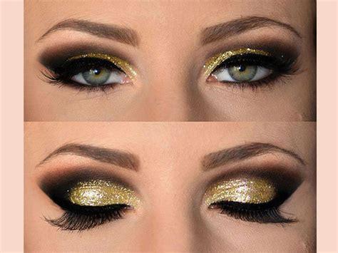 Eyeshadow Lengkap metallic make up look lengkap