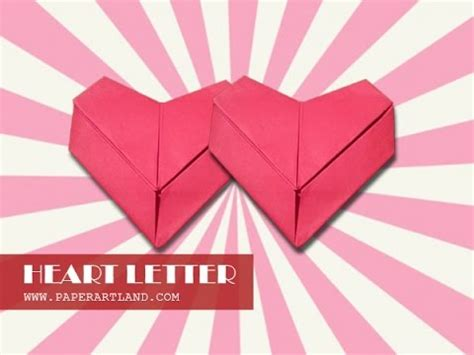let s fold an origami letter for valentines