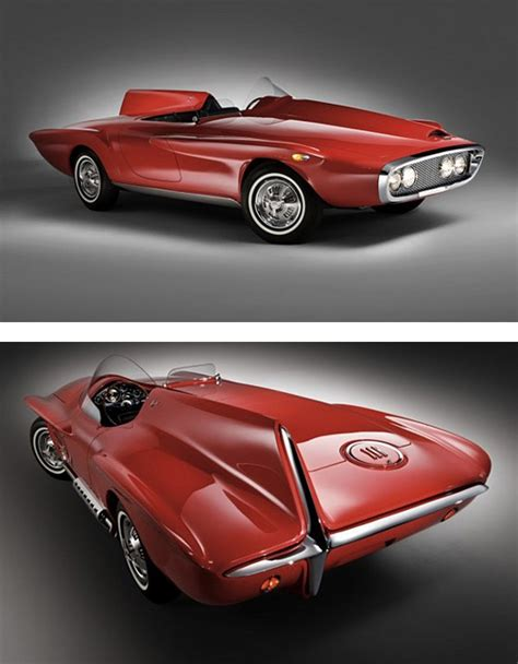 design inspiration plymouth 1960 plymouth xnr concept car by virgil exner sr