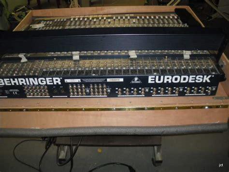 Mixer Behringer Mx 8000 behringer eurodesk mx8000 image 569364 audiofanzine