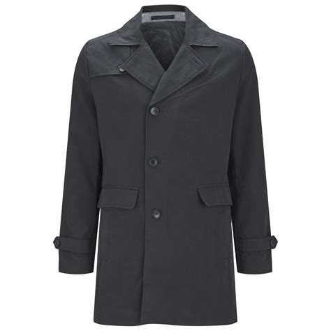Coat Premium jones premium s york trench coat navy clothing zavvi