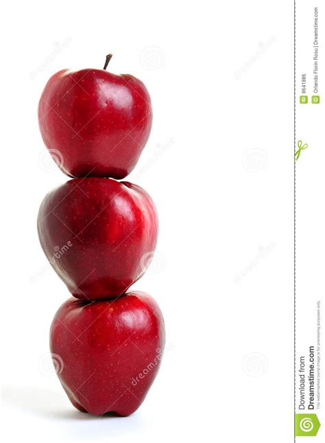 Apple Stack Royalty Free Stock Image   Image: 8641886