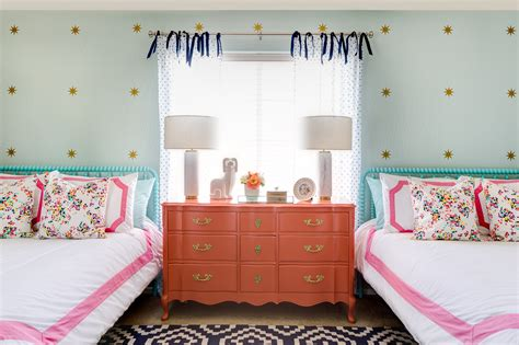 bright little girls room interior white twin bedroom spring inspired shared girls room project nursery