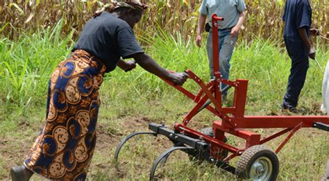 Farmer Tests The Multi Functional Implement On A Farm In Kenya | the multi functional implement a tool to jump start