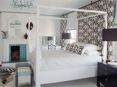black and white curtains contemporary bedroom hgtv photo page hgtv