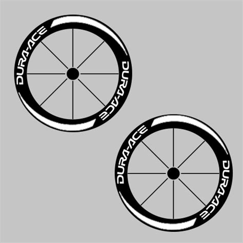 dura ace bike carbon wheel decal sticker kit 50mm