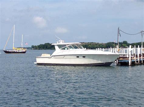 used tiara boats in ohio 1994 used tiara 4300 open cruiser boat for sale 189 000