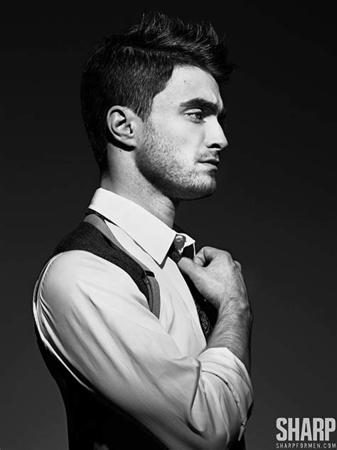 "Daniel Radcliffe for ""SHARP"" Magazine - Oh No They Didn't!"