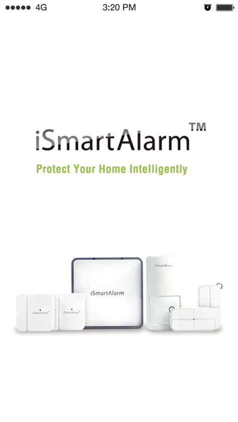 ismartalarm home security system ios