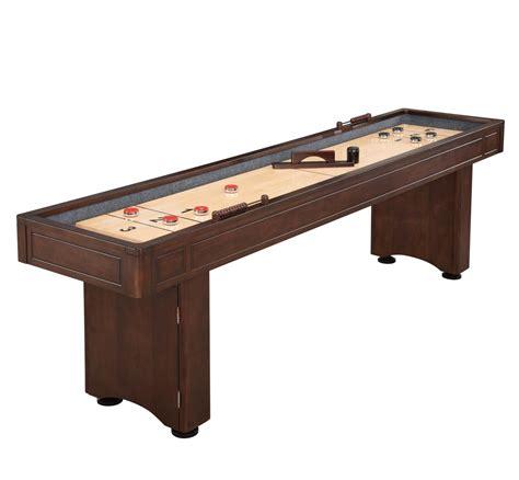 9 ft shuffleboard table austin 9 ft shuffleboard table with leg storage in