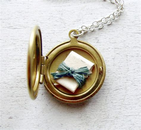 jewelry lockets secret message locket necklace bridesmaids gift