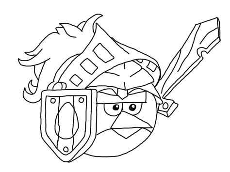 angry birds epic coloring page my free coloring