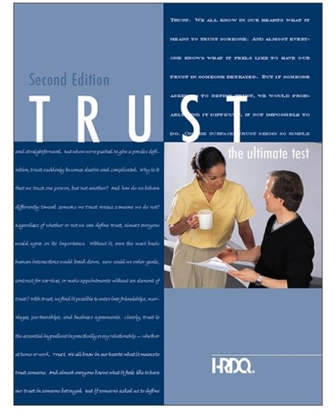 Network Assessment Exercise Abridged Mba Version by Trust The Ultimate Test Assessment Self Assessment Hrdq