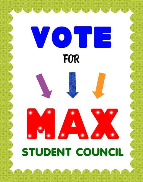 stron biz vote poster template