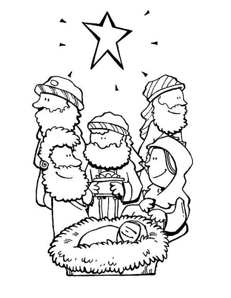 star of bethlehem coloring page to print coloring pages