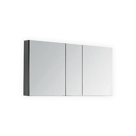 wide mirrored bathroom cabinet 50 quot wide mirrored bathroom medicine cabinet