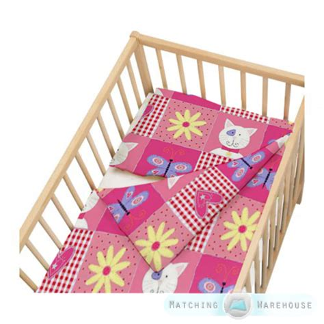 crib bedding size childrens cot size duvet cover pillowcase nursery baby bed crib bedding ebay