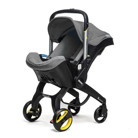 doona infant car seat that converts to a stroller doona car seat stroller grey free shipping in stock