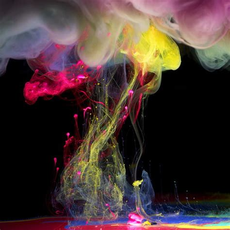 aqueous fluoreau stunning underwater ink photographs by mawson design swan