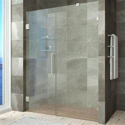shower door magnetic home depot anzzi consort series 58 5 in x 72 in frameless hinge