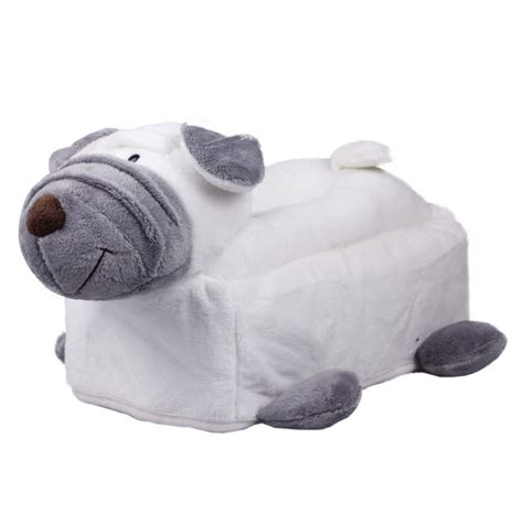 novelty toilet paper holder novelty plush animal tissue cover box room car toilet soft
