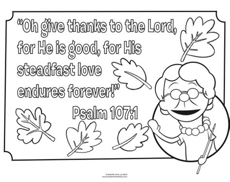 halloween coloring pages for sunday school bible coloring page for thanksgiving psalm 107 1 fall