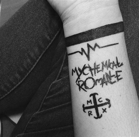 emo tattoo ideas mcr tattoos for the different eras a for