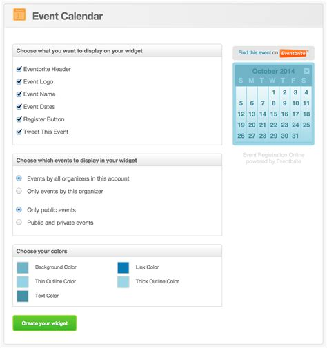 Sell My Calendar On How To Sell Eventbrite Tickets Registrations On Your