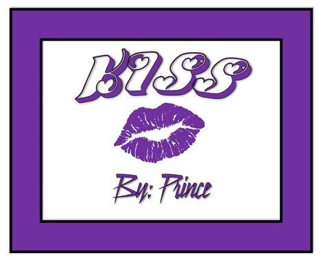 prince kiss a kiss from prince song analysis by victor cruz