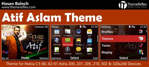nokia asha 210 themes 320x240 free download atif aslam theme for nokia c3 00 x2 01 asha 200 201