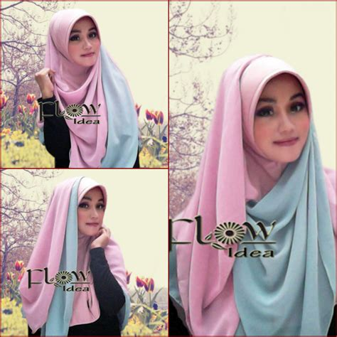 Siria Mutia Jaquart By Flow new tutorial kombinasi 2 warna