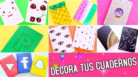 imagenes para decorar mis fotos diy 14 ideas para decorar tus cuadernos nancy loaiza