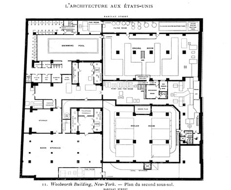 woolworths floor plan gallery of ad classics woolworth building cass gilbert 31