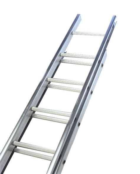 three section ladders industrial c section aluminium extension ladder three